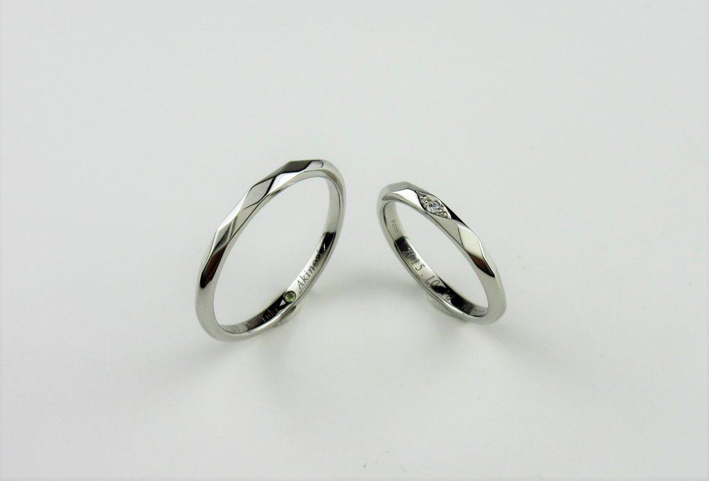 手作り結婚指輪画像