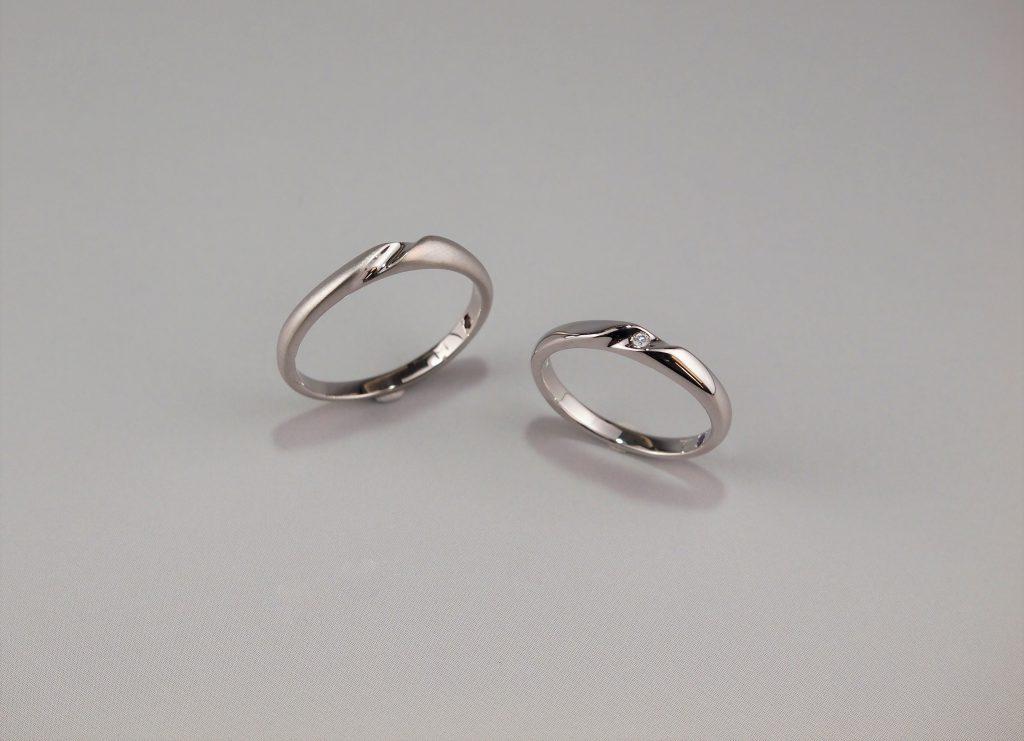 お互いの想いが詰まった結婚指輪