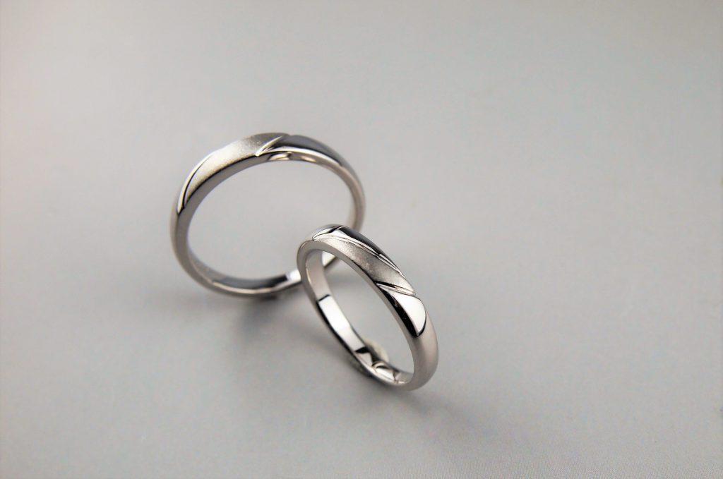 手作り指輪完成品