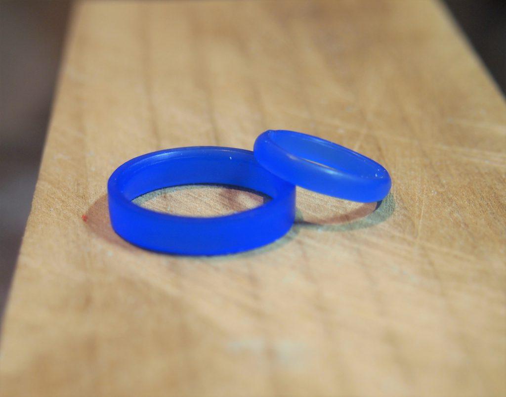 手作り指輪の原型