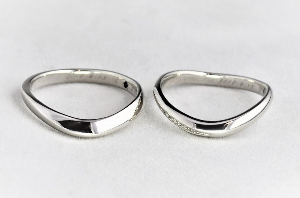 一生懸命作った結婚指輪